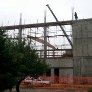 Sremska Mitrovica: U toku postavljanje krova na Gradski bazen