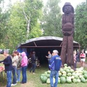 Šašinci: Najteža lubenica 24, 5 kilograma na 27. Bostanijadi