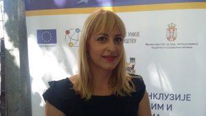 Jelena Arsić, koordinator projekta