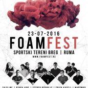 SEDMI FOAMFEST : Najveća žurka ove subote je u Rumi