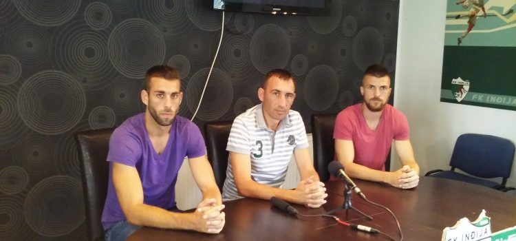 "Pojačanja u FK ""Inđija"""