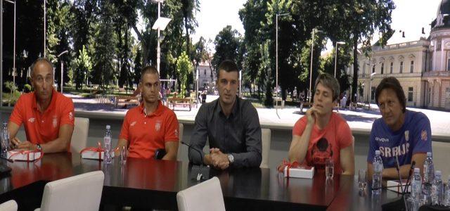 Mitrovčani Dragana Tomašević i Marko Tomićević kod gradonačelnika pred odlazak u Rio