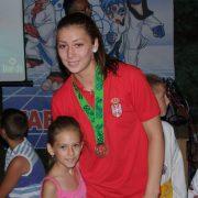 Inđija: Ana Bajić, reprezentativka Srbije u tekvondou- dobitnica Oktobarske nagrade