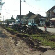 Vojka: Počeli radovi na uređenju centra sela