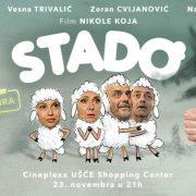 """Bačka Palanka: Film """"Stado"""" u bioskopu """"Vojvodina"""""""