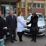 Pećinci: Dom zdravlja dobio dva nova službena automobila