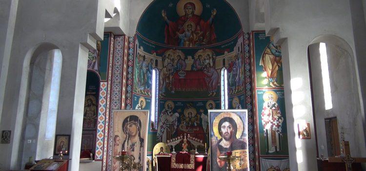 Ruma: Izgradnja ikonostasa u Hramu Sabora srpskih svetitelja