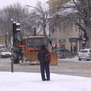 Ruma: Snežni nameti sanirani, putevi su prohodni!