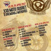 XXII Moto susret u Sremskoj Mitrovici