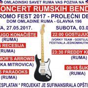 Ruma: 16. Koncert rumskih bendova