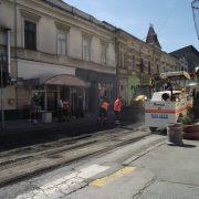 Ruma: Počelo asfaltiranje Železničke ulice
