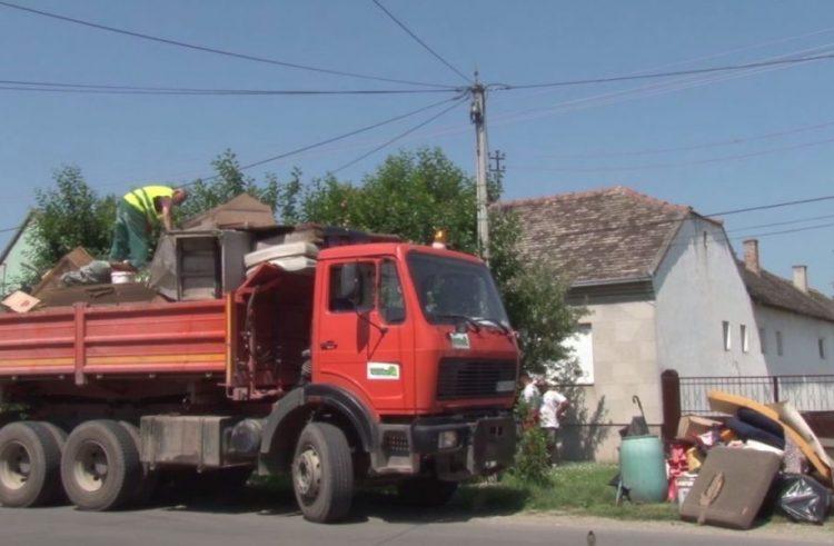 Stara Pazova: Odvoženje kabastog otpada