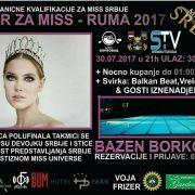 Ruma: Polufinalno takmičenje za Mis Srbije
