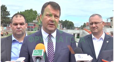 Predsednik Pokrajisnek Vlade Igor Mirović u Maloj Remeti