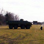 Nikinci: Artiljerijsko gadjanje