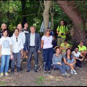 Obedska bara: Učesnike međunarodnog kampa posetila predsednica Opštine Pećinci