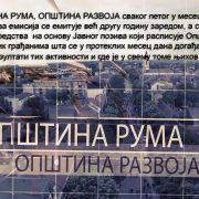 """Ruma: Novo izdanje emisije ,,Opština Ruma, opština razvoja"""""""