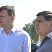 S. Pazova: Pokrajinski premijer Igor Mirović obilazi radove