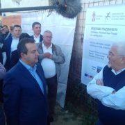 Dačić u Golubincima: Počeli radovi na izgradnji stanova za izbegličke porodice