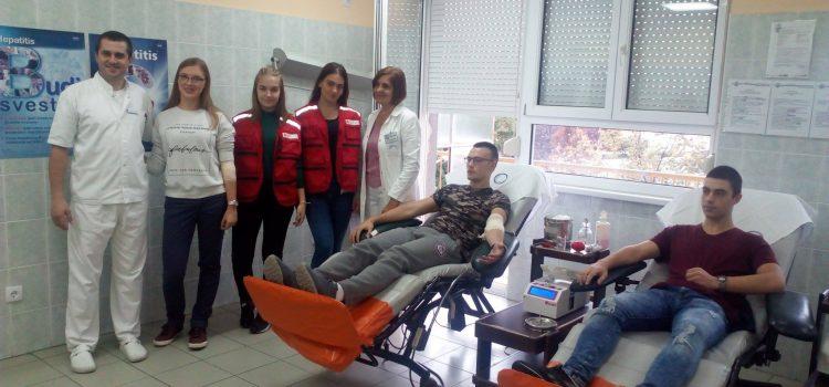 Sremska Mitrovica: Omladinske akcije dobrovoljnog davanja krvi