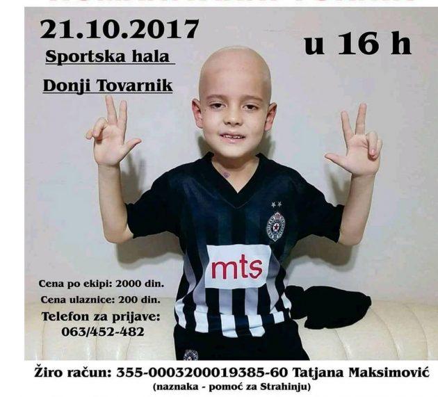 "Pećinci: Sutra humanitarni turnir ""Da Strahinja pobedi"""