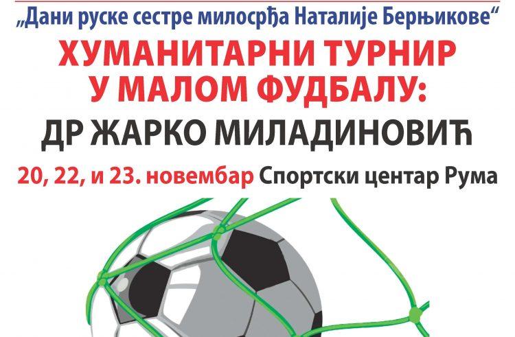 Ruma: Humanitarni turnir u malom fudbalu