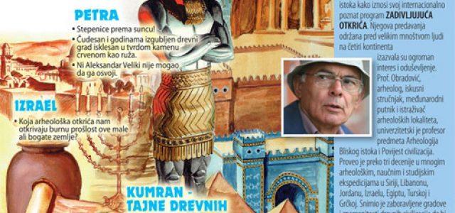 Ruma: Večeras treće predavanje o arheologiji zanimljivih svetskih lokaliteta zemalja Bliskog istoka
