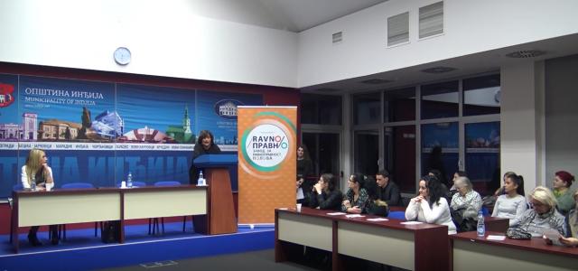 """Inđija: Održana tribina """"16 dana aktivizma borbe protiv nasilja nad ženama"""""""
