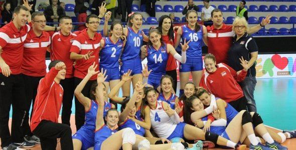 Kadetkinje Srbije slavile u Rumi i plasirale se na Evropsko prvenstvo 2018
