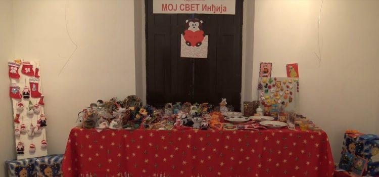 Inđija: Prodajna izložba radova dece Moj svet otvorena još do sutra