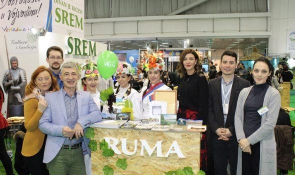 Divan je kićeni Srem: Predstavljanje Rume na Sajmu turizma