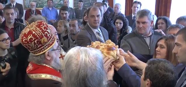 Obeležena krsna slava Opštine Irig i Srpske čitaonice (VIDEO)
