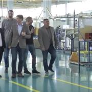 Državni sekretar posetio Albon: U planu izgradnja novog pogona i zapošljavanje radnika (VIDEO)