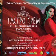 "Stara Pazova: Manifestacija ""Gastro Srem""-oaza dobre hrane"