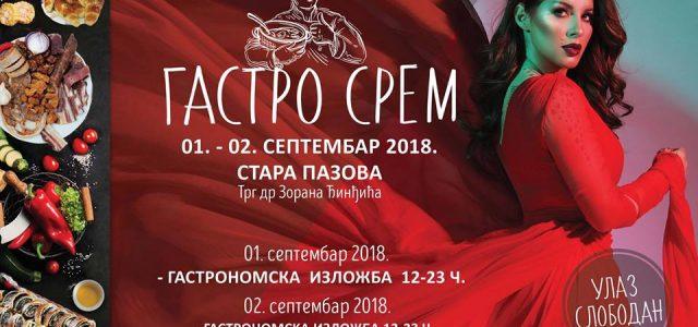 """Stara Pazova: """"Gastro Srem""""- manifestacija na kojoj će se jesti, BAŠ!"""