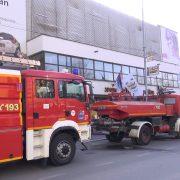 Lokalizovan požar u centru Rume