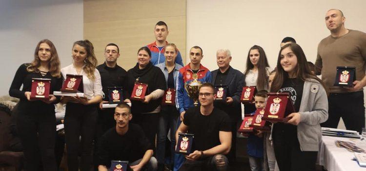 Savate savez Srbije: Priznanja za Rumljane