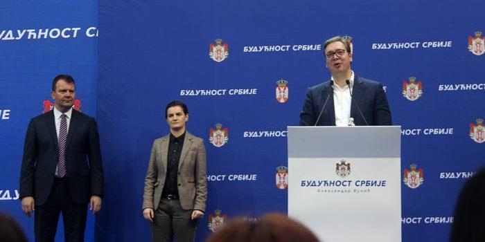 Aleksandar Vučić obišao Sremski okrug