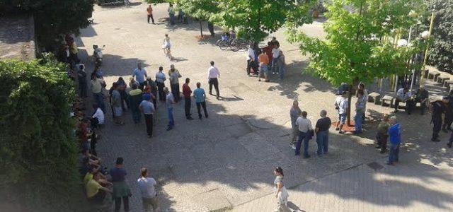 Radnici Mitrosrema ponovo u štrajku