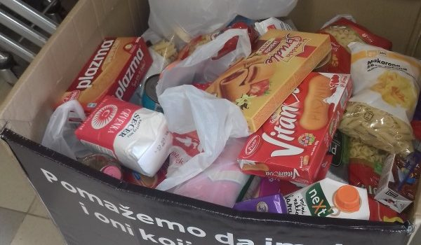 U Sremskoj Mitrovici za vikend akcija Banke hrane