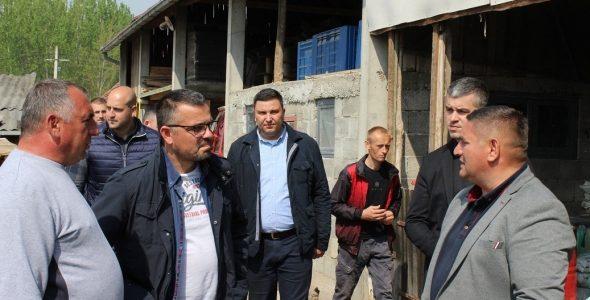 Ministar Nedimović obišao Klenak