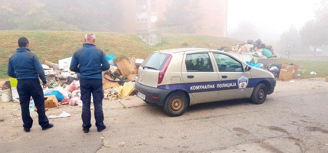 Sremska Mitrovica: Ko baca smeće van kontejnera sledi mu kazna