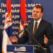 Božićna čestitka predsednika Pokrajinske vlade Igora Mirovića i pokrajinskog sekretara Dragane Milošević