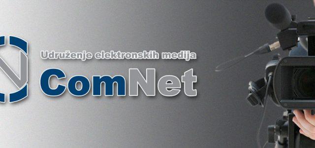 Saopštenje COMNET-a povodom izjave Vesne Pešić