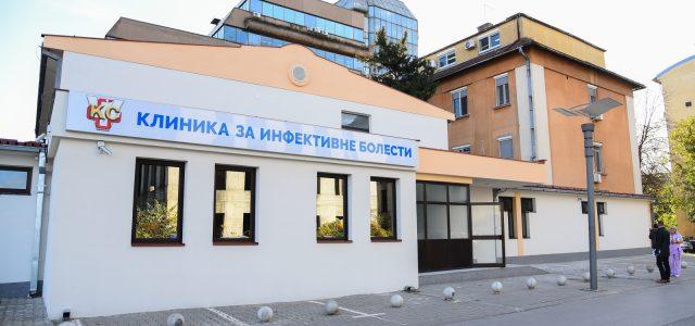 Na Klinici za infektivne bolesti KCV na lečenju 14 pacienata obolelih od korona virusa