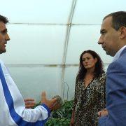 Dr Vuk Radojević, pokrajinski sekretar za poljoprivredu, vodoprivredu i šumarstvo, u poseti rumskoj i iriškoj opštini