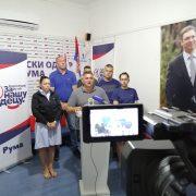 Na ponovljenim izborima potvrđeno poverenje građana koje SNS ima u rumskoj opštini