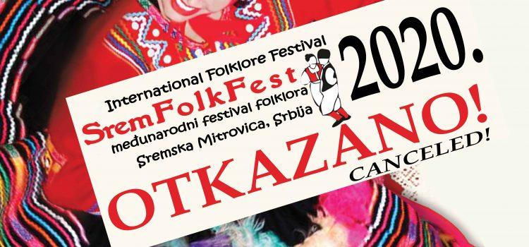 """Bez """"Srem folk festa"""" ove godine"""