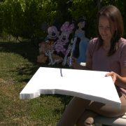 Jasmina Đurić – umetnica koja stiropor pretvara u remek delo