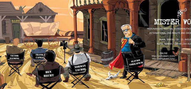 """Sedmi Festival jednominutnog filma """"Mister Vorki"""", održaće se od 19. do 23. avgusta u izmenjenim uslovima"""